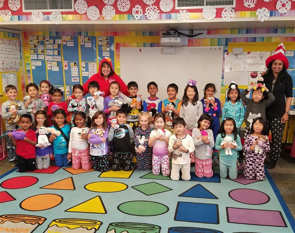 Sutter students celebrate Dr. Seuss' birthday and Read Across America Day