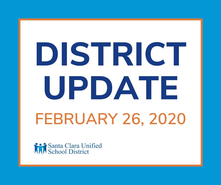 District Update - February 26, 2021
