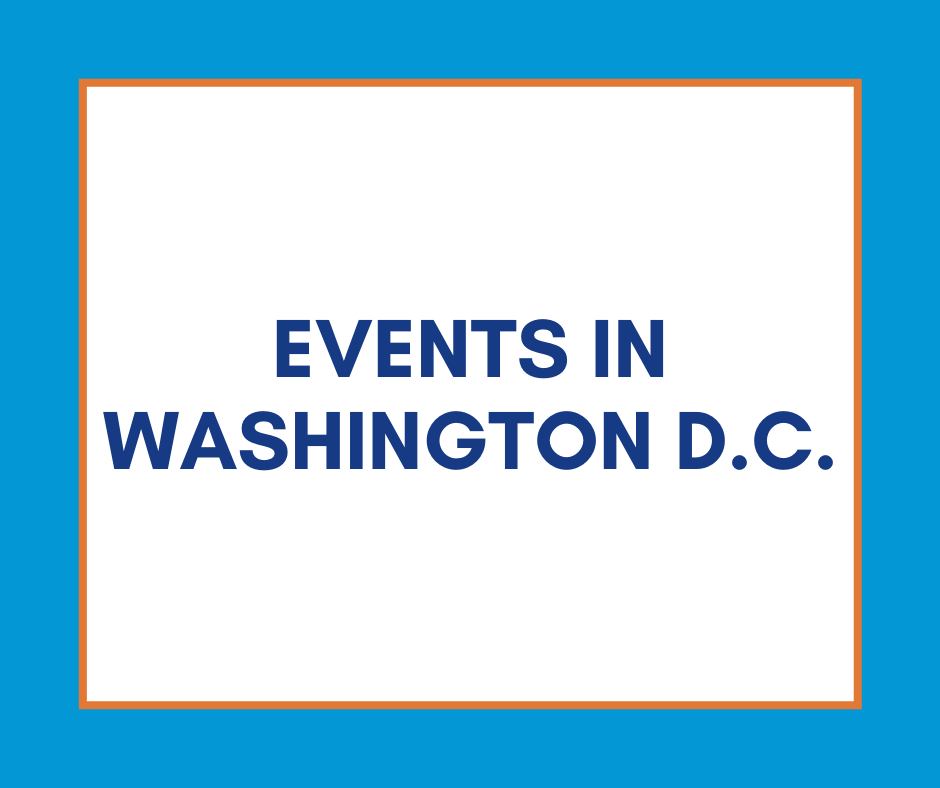 Events in Washington DC