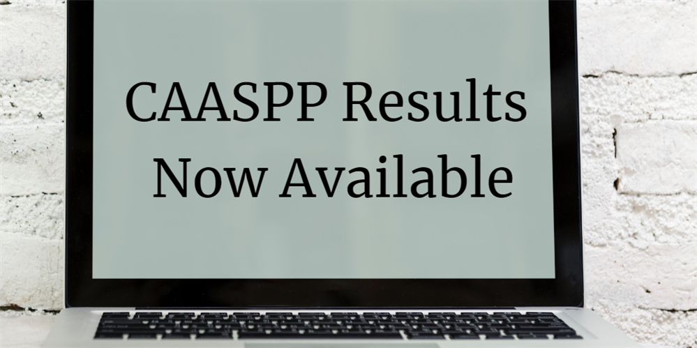 CAASPP Results Now Available