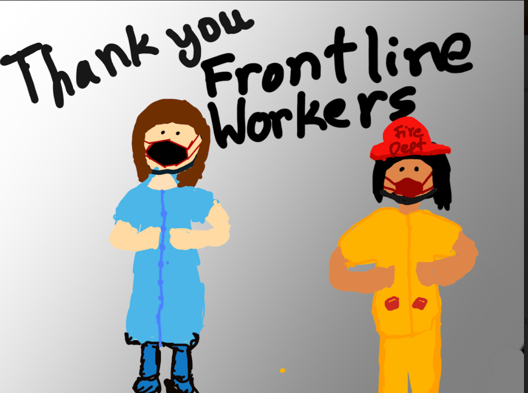 Thank you Frontline Workers